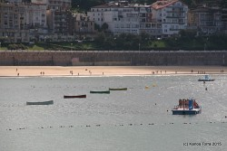 September 5th 2015, 17:09  Donostia, La Concha Bay