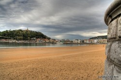 April 16th 2016, 17:16  Donostia, La concha beach